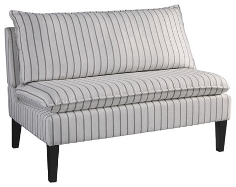 Living Room Benches - arrowrock white gray accent bench a3000112 benches