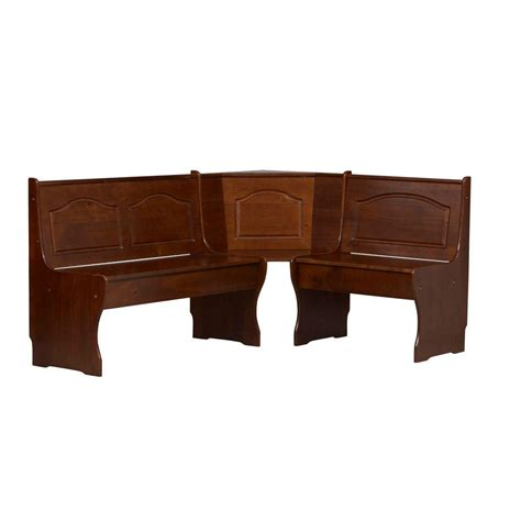 bench nook home decorators collection chelsea breakfast nook corner