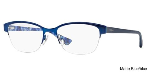 buy vogue vo3917 semi rimless half frame prescription
