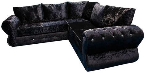15 Best Collection Of Black Velvet Sofas Black Velvet Sofas