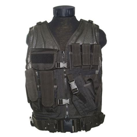 Soft Andromax Z M E mil tec chaleco t 225 ctico swat negro snipers airsoft