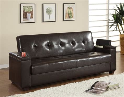 Klik Klak Sofa Bed With Storage Function Contemporary