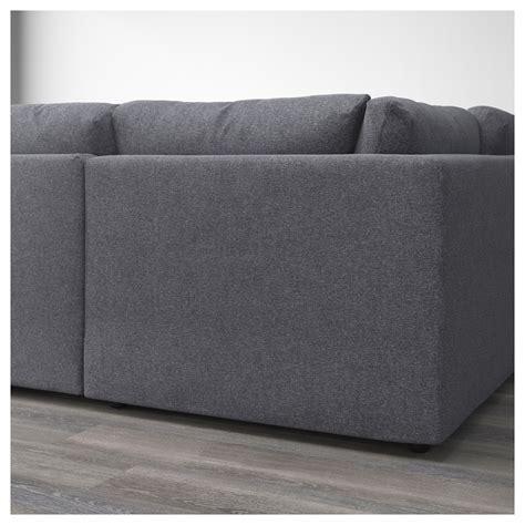 u shaped sofa ikea vimle u shaped sofa 6 seat with open end gunnared medium