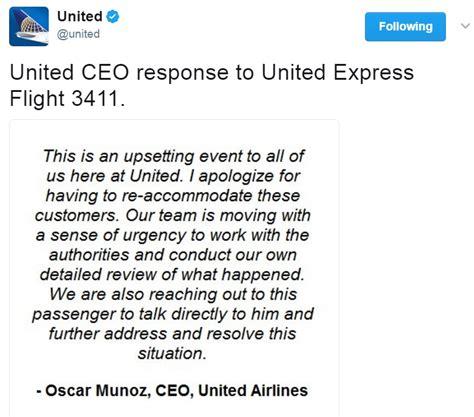 oscar munoz united ceo ceo oscar munoz is making united s problem with the doctor