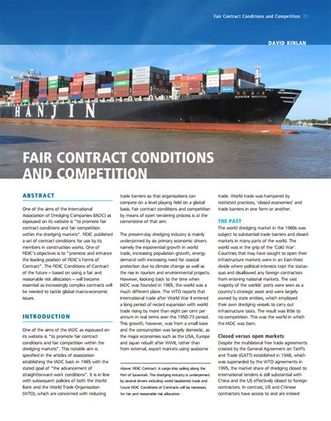 why choose design and build contract article fair contract conditions and competition fidic