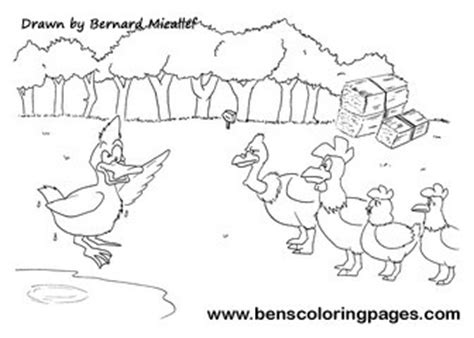 chicken licken coloring page chicken licken printables sketch coloring page