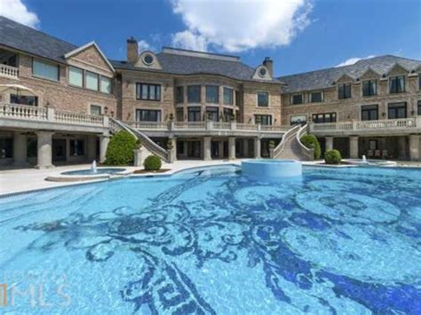 mansion house for sale another atlanta mega mansion of tyler perry from above