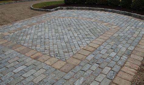 Belgian Block Patio by Belgian Block Cording Landscape Design