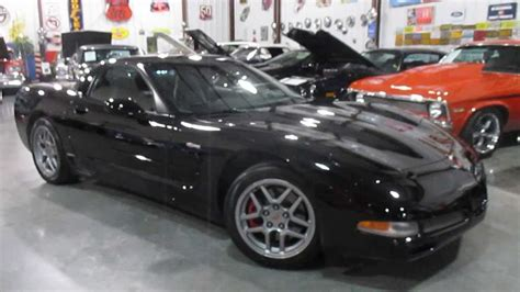 black corvette z06 for sale sold 2004 corvette z06 black coupe for sale