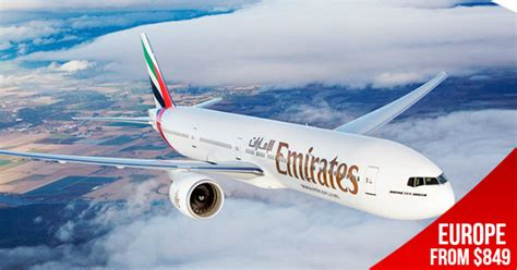 emirates sale the emirates sale is on fly to europe from s 849