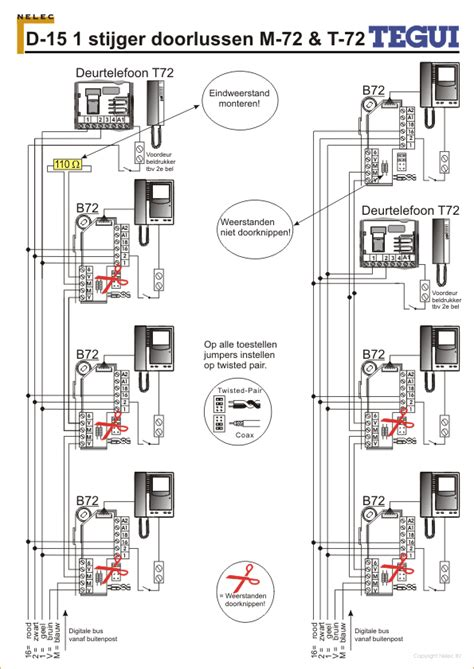 d 15 schema m72 t 72 1s nelec com intercom made easy