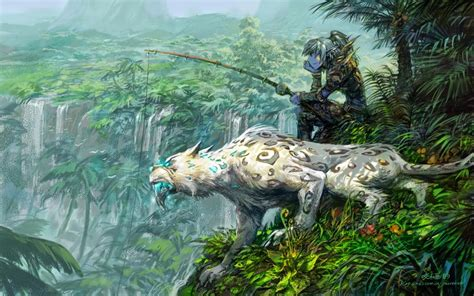 Anime Jungle by Drawing Anime Jungle Hd Wallpaper And Paintings