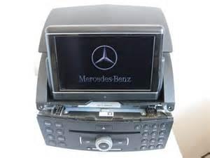 Mercedes Comand Navigation System Mercedes Comand Ntg4 W204 C Class Sat Nav Single Cd