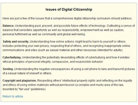conflicts context and reading partnerinedu digital citizenship at the elementary level