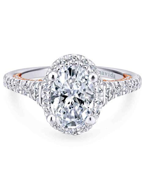 Oval Engagement Rings by Oval Engagement Rings For The To Be Martha Stewart