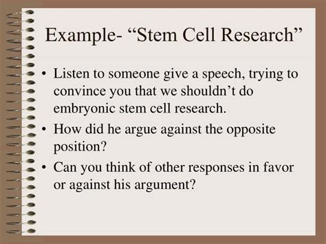 Embryonic Stem Cell Research Outline by College Essays College Application Essays Persuasive Speech On Stem Cell Research