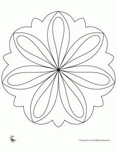 free mandalas coloring gt flower mandalas gt flower mandala easy flower mandala coloring page and others mandala