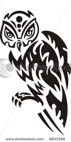 tribal tattoo zone owl designs on pinterest owl tattoos owl stencil and