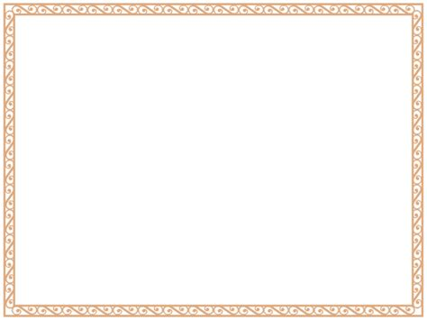 certificate borders templates certificate border template