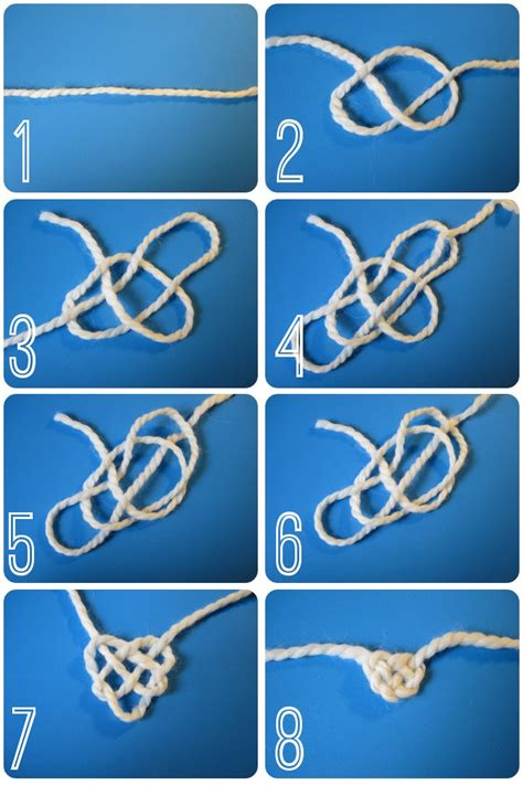 Tying Celtic Knots - diy celtic knot like on the cover of salt