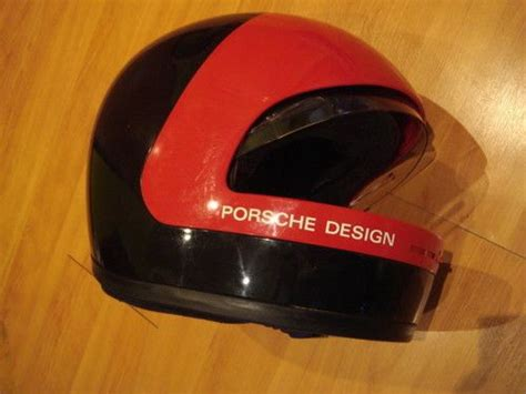 Helm Shoei Retro vintage romer porche design helmet highly collectible not arai shoei agv suomy porche design