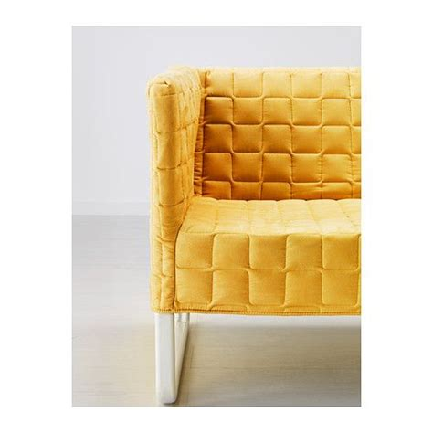 knopparp loveseat knopparp loveseat bright yellow