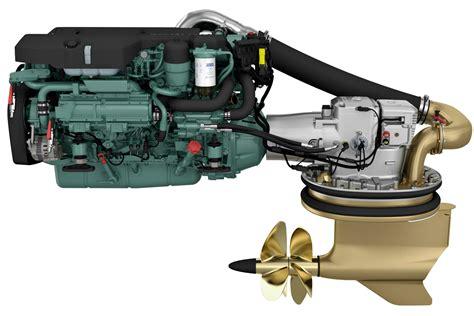 volvo penta  litre marine engine  show boatadvice