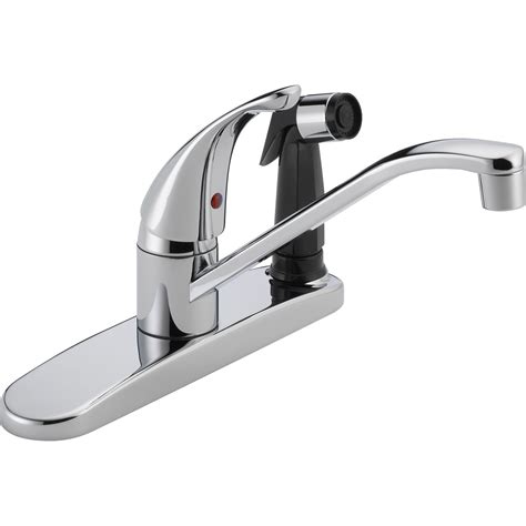 peerless kitchen faucet reviews peerless faucets single handle centerset kitchen faucet with side spray reviews wayfair