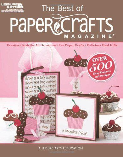 Crafts With Magazine Paper - paper crafts magazine cards