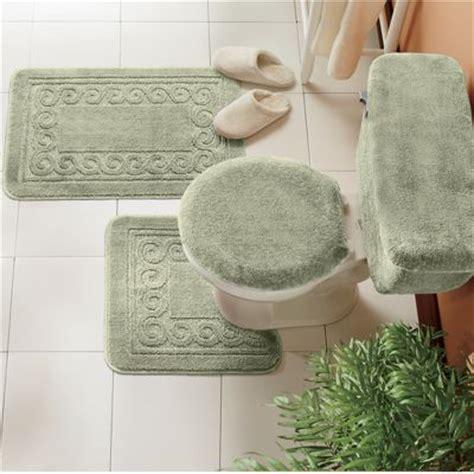 5 Piece Scroll Bath Rug Set From Ginny S J961736 5 Bathroom Rug Sets