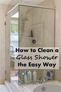 how to clean a glass shower the easy way clearfield