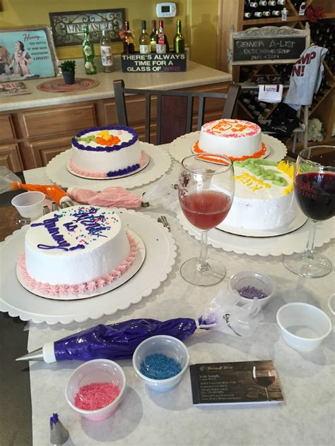 decorating at water to wine october 29 2015