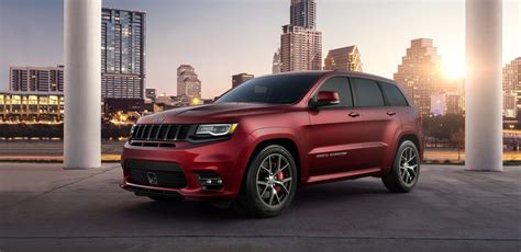 jeep grand srt the 2017 srt lineup overview of the srt high performance
