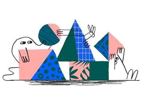 dropbox rebrand dropbox rebrand about page illustrations by justin tran