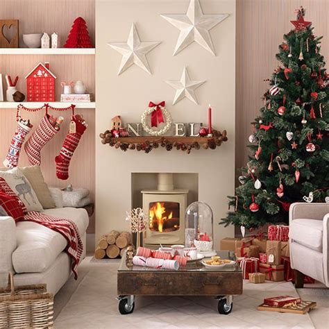 scandi christmas living room decorating housetohome co uk