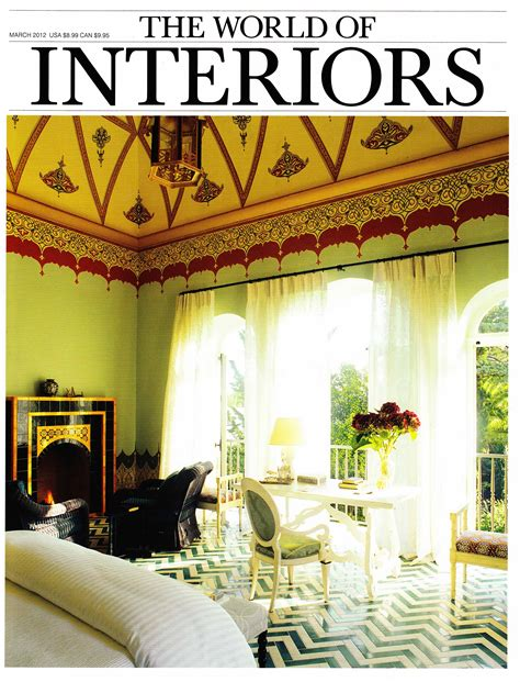 of the world of interiors march 2012