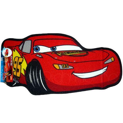tappeto cars tappetino a forma saetta mcqueen cartone animato cars