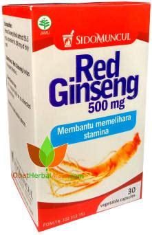Kapsul Ginseng Korea kapsul ginseng sido muncul ginseng korea toko obat herbal di bandung jual