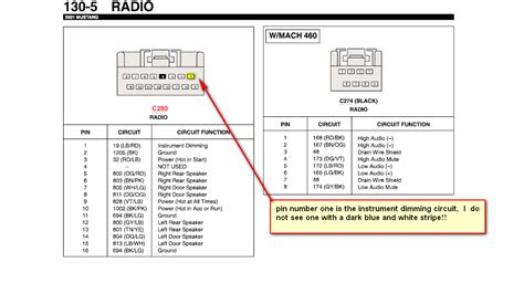 1997 windstar radio wiring diagram 1997 ford windstar