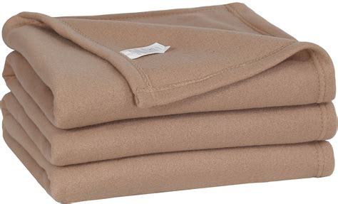 warm blankets for bed save 50 king polar fleece thermal blanket tan 90 by 113 inches extra soft