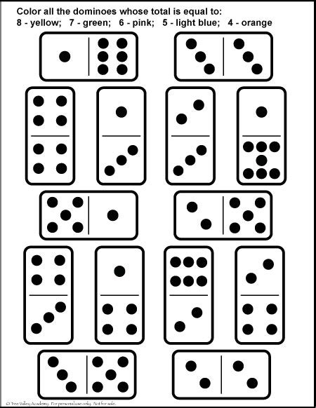 printable number tiles 1 20 number bonds to 8 free math worksheets