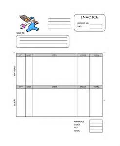 Builder Invoice Template by Painting Invoice Template 7 Free Excel Pdf