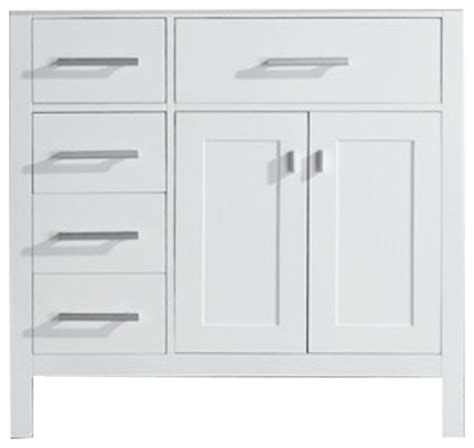 cabinet layout essentials design elements dec076d w l vanity in white base cabinet