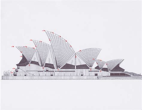 House Design Plans 3d Up And Down structural system ae 390 sydney opera house