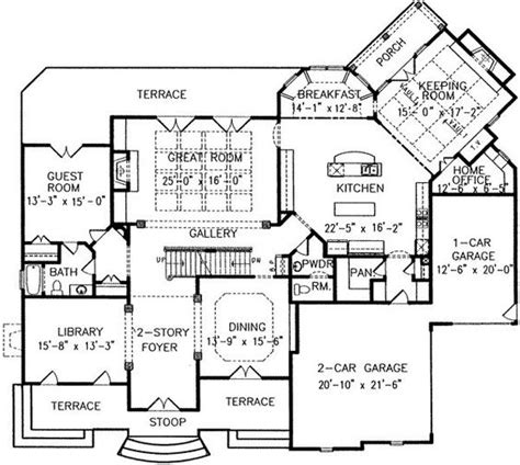 sun house plans main level keeping room into sun room connecting to home office to make studio