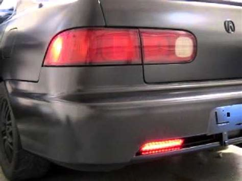 96 integra gsr sequential tail light modification youtube
