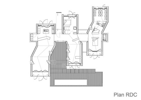 house plans on hill slopes individual house modern architecture
