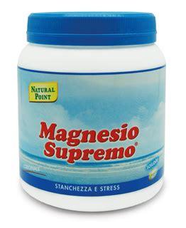 magnesio supremo ingredienti magnesio supremo integratore stanchezza e stress 300 g