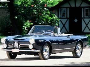 1962 Alfa Romeo Spider Car Alfa Romeo 2600 Spider 1962 01