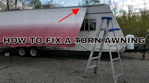 rv camper awning repair camper wiz